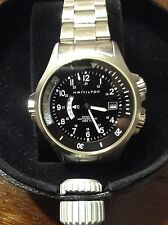 Hamilton Khaki Navy GMT Watch