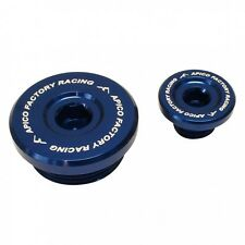 APICO ENGINE PLUG SET KAWASAKI KXF250 04-10 BLUE