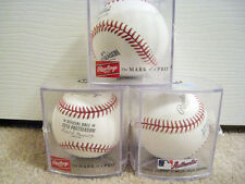 Lot of 3 - 2016 MLB Post Season Baseballs Rawlings Major League OMLB NEW BNIB