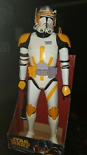 "Jakks Pacific Commander Cody 31"" Hard to find Star Wars Giant Figure"