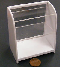 1:12 Scale Wood & Acrylic Shop Display Case Dolls House Miniature Accessory WP