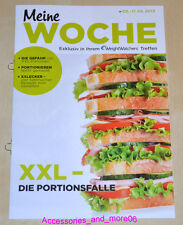 Weight Watchers Meine Woche 5.5 - 11.5 ProPoints™ Plan 360° Wochenbroschüre 2013