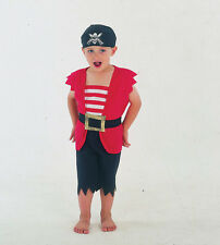 PIRATE BOY TODDLER COSTUME FANCY DRESS CHILD 2-3 YEARS
