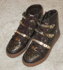 Michael Kors Ivy Vin shoes girls toddlers size 7 new brown