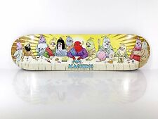 Toy Machine 8.0 Last Supper Skateboard Deck w/ Free Grip Tape
