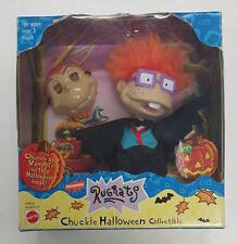 1999 MATTEL RUGRATS CHUCKIE VAMPIRE HALLOWEEN COLLECTIBLE WITH MASK NIB