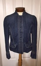 Adorable Lined GAP Womens Jean Jacket Size 8