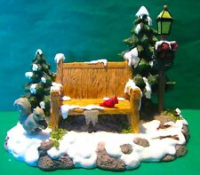 Dept 56 Odds And Ends-Heritage Village-Mill Creek Park Bench- #52654- No Box