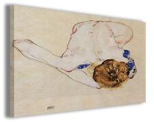 Quadro moderno Egon Schiele vol X stampa su tela canvas pittori famosi