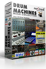 Drum Machines OVER 19.000 WAV samples over 190 classic and modern Drum Machine
