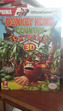 Donkey Kong Country Returns 3D (BRAND NEW) Official STRATEGY GUIDE