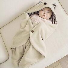 Cute Baby Infant Warm Blanket Swaddle Sleepsacks Bedding Sleeping Bag Wrap OE