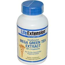 Mega Green Tea Extract - Decaffeinated - 100 Vcaps by Life Extension