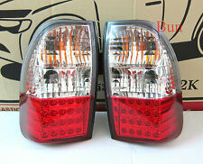 RED LED rear lights Mitsubishi L200 animal warrior triton mk tail lamp pickup 97