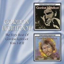 The Very Best of Gordon Lightfoot, Vols. 1 & 2 [Beat Goes On] by Gordon...