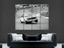 BMW CLASSIC CAR RALLY VINTAGE  OLD LARGE PICTURE POSTER GIANT