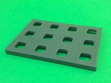 Playmobil Eisenbahn Bahnhofseinrichtung Ständer Gitter Platte  aus 4203 #2-305