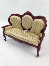 Dollhouse Collectors Victorian Sofa Settee Furniture- New Boxed
