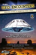 "Atlantis Monument Valley UFO  Lighted  1007 Plastic Model 5"" Kit"