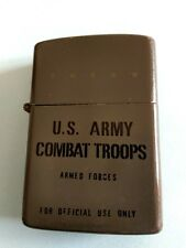 ZIPPO lighter 1978  U.S.ARMY COMBAT TROORS ARMED FORCES