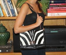 NWT KATE SPADE BURCHELLI BETHANY SHOULDER BAG. RETAIL $595 RARE ZEBRA VERSION