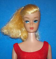Vintage Barbie Doll #850 Golden Blonde Swirl Ponytail 1964 OSS SL