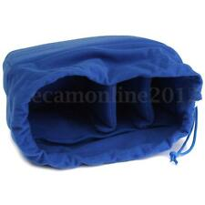 Flexible DSLR SLR Camera Len Insert Padded Bag Partition Shockproof Pouch Case