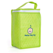 COTTONWOOD KID Healthy Baby Green Insulated Cooler Bottle Bag Breastmilk Formula