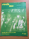 ABBA - Rock Me. Australian Sheet Music