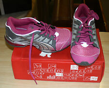 PUMA VOLTAIC 3 18513828 YOUTH SIZE 6.5 PINK/SILVER NEW IN BOX FREE SHIPPING