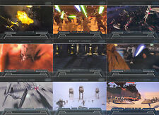 STAR WARS GALACTIC FILES 2 2013 HONOR THE FALLEN INSERT CARD SET HF-1 TO HF-10