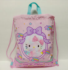 Sanrio Hello Kitty Drawstring Tote Backpack Bag Dreamland Kawaii