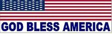 GOD BLESS AMERICA HELMET STICKER