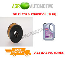 DIESEL OIL FILTER + FS 5W30 ENGINE OIL FOR FORD MONDEO 2.0 131 BHP 2001-07