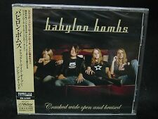 BABYLON BOMBS Cracked Wide Open And Bruised + 2 JAPAN CD Hardcore Superstar