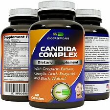 Candida Cleanse Detox Supplement - Best Probiotic & Promotes Healthy Digestion