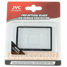 JYC LCD Screen Protector Cover for Canon EOS 550D
