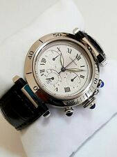 Authentic Cartier Pasha Chronograph Men's Watch~38mm Diameter~Defected Dial !