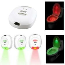 Motion Sensor Activated Toilet Nightlight 2 Color Changing LED Toilet Night Lamp