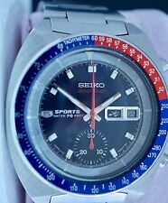 Seiko Speed-timer chronograph 6139-6002 pepsi Pogue restaurado
