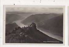 Burg Aggstein a d Donau Austria 1934 RP Postcard 848a
