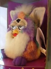 "Furby ""RARE TIE-DYE"" 1999 Tiger Electronic Toy 70-800 NEW UNOPENED Christmas gif"