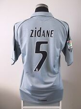 Zinedine ZIDANE #5 Real Madrid Third Football Shirt Jersey 2005/06 (L)