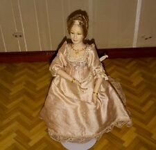 Dolls house Victorian lady artisan doll