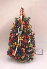 Christmas Tree - DHS49107 - decorated  1/12 scale dollhouse miniature