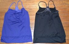 2 Champion Athletic Tops Sleeveless Built in Sports Bra Duo Dry Size Small