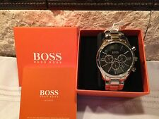 Men's Hugo Boss Ambassador Chronograph Watch 1513196  NWT & BOX