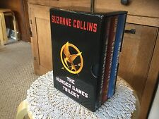 Pre Owned The Hunger Games Trilogy.  Hard bound.  3 books by Suzanne Collins.