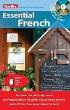 Essential French & CD (English and French Edition)-ExLibrary