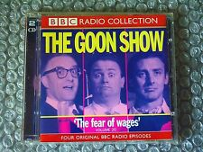 CD THE GOON SHOW THE FEAR OF WAGES VOL 20 BBC Records 2002 Comedy Album 50 Track